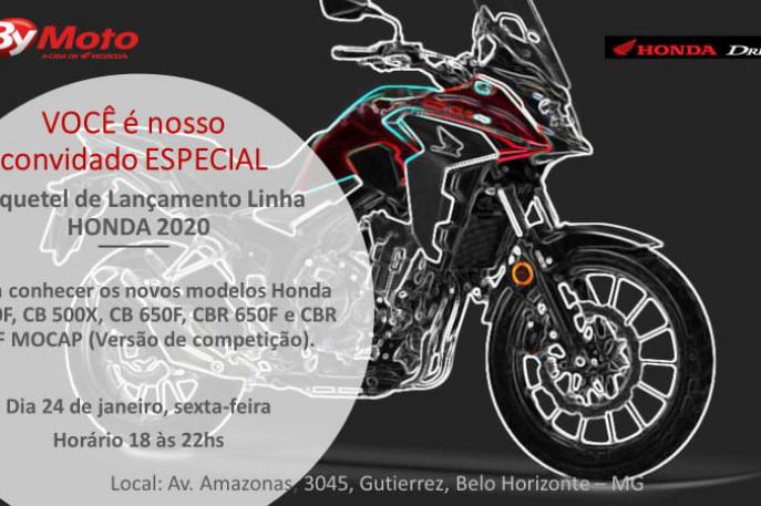 A By Moto Honda em Belo Horizonte tem um convite especial para você!